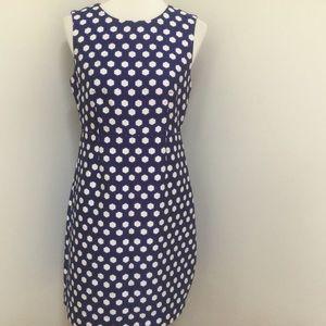 Diane Von Fursterberg geometric sleeveless dress